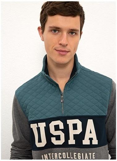 U.S. Polo Assn. Sweatshirt Petrol